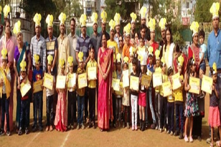 Podar International School-Yellow Day