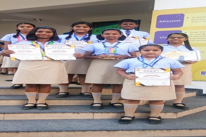 Podar International School-Certification
