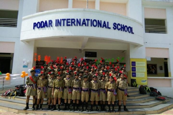 Podar International School-NCC