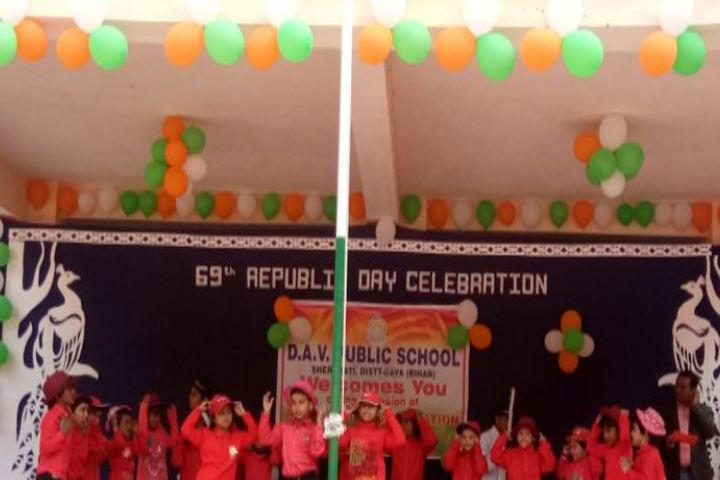 Dav Public School-Republic Events