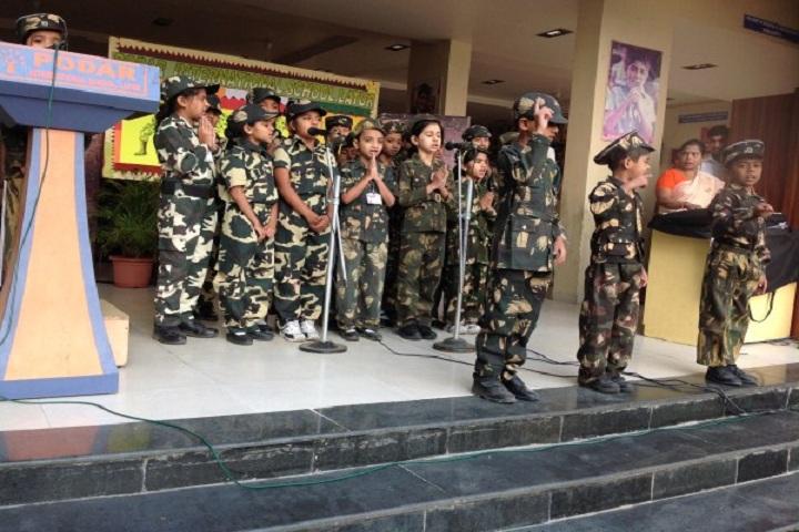 Podar International School-Army day celebrations