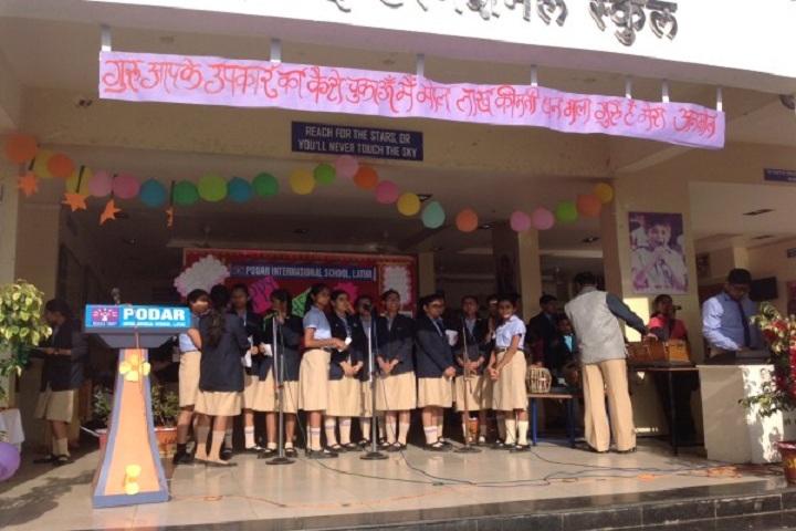 Podar International School-Teachers day