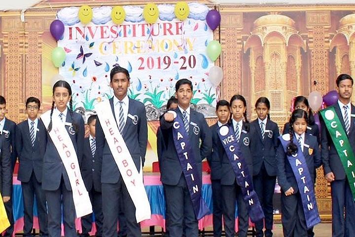 Prakash Public School-Investiture