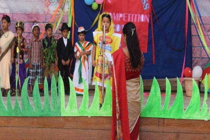 Prakash Public School-Independence Day