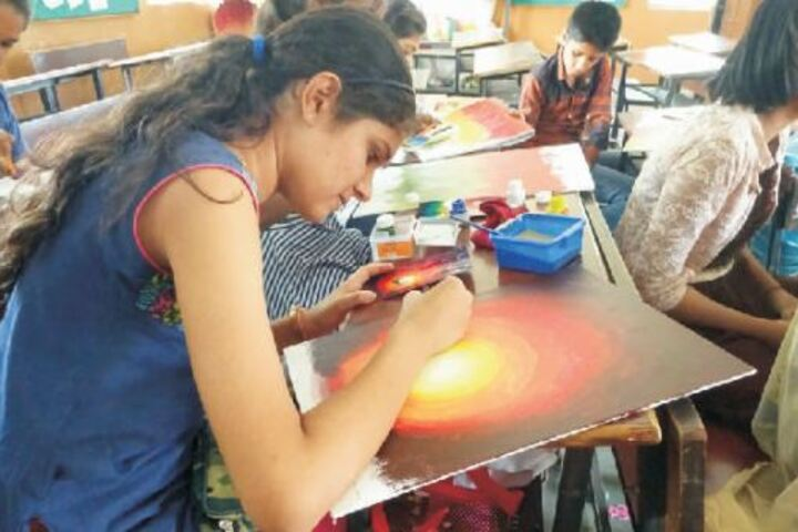 Pravara Central Public School-Art Class