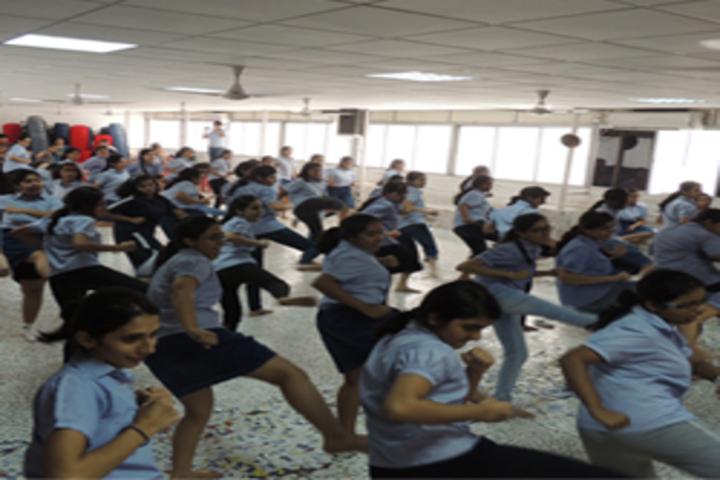 R N Podar School-Karate