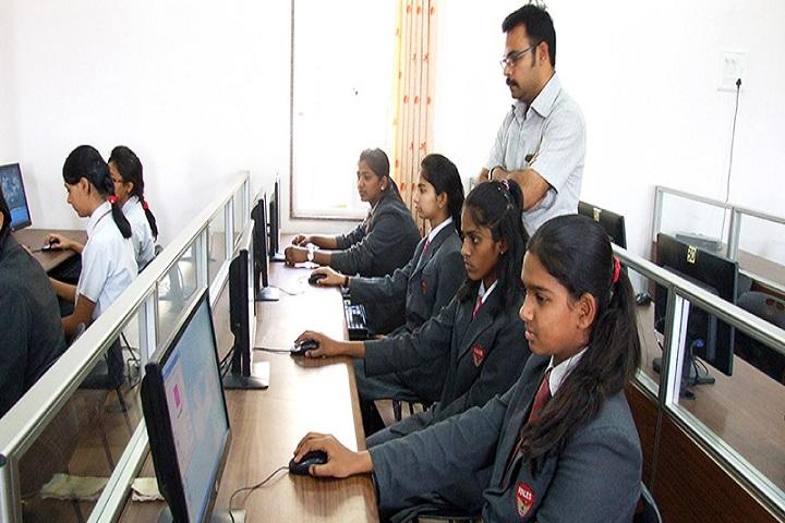 Raja Narayanlal Lahoti English School - Computer lab