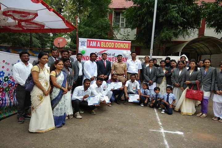 Rajiv Gandhi International School-Blood donation