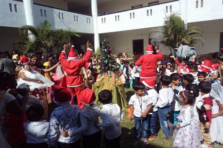 Rajiv Gandhi International School-Christmas day