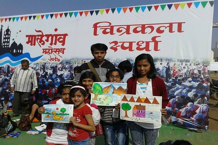 Rajiv Gandhi International School-Drawing Competetion