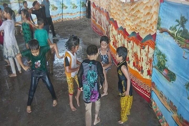 Rajiv Gandhi International School-Holi celebrations