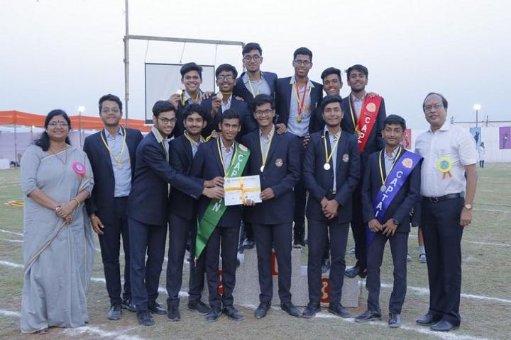 Ram Ratna Vidya Mandir-Award ceremony