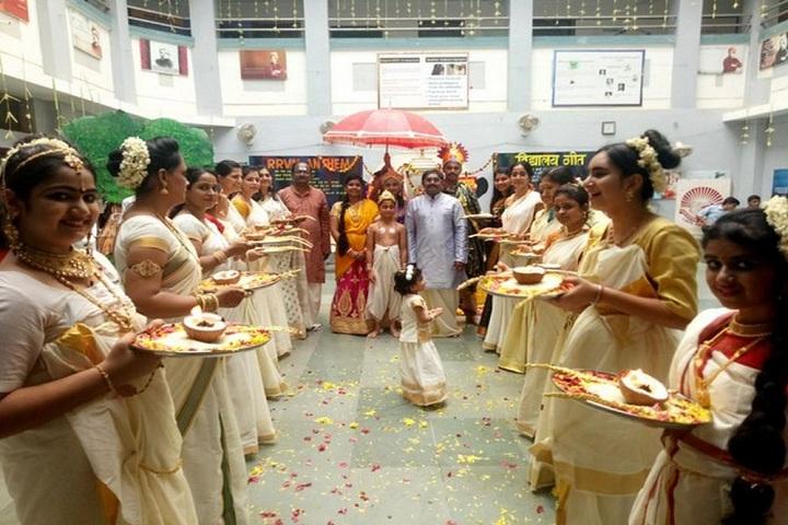 Ram Ratna Vidya Mandir - food festival