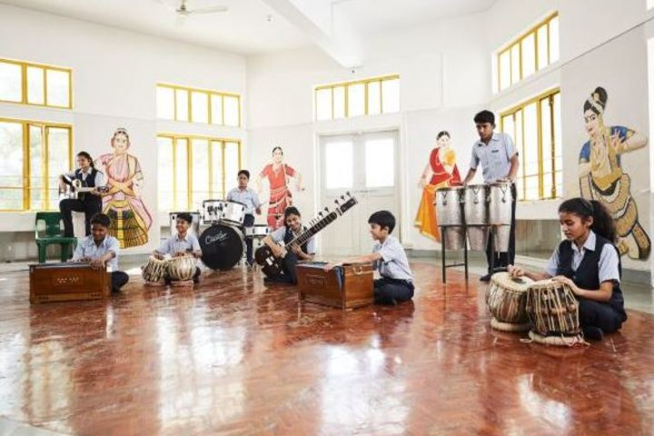 Rasbihari International School-Music Room
