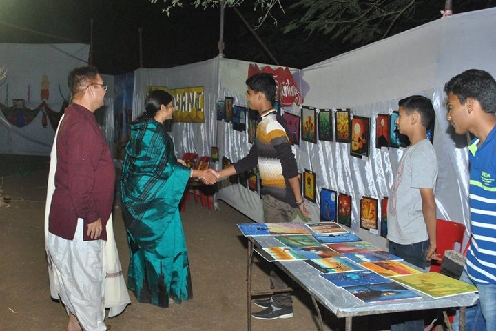 Rasbihari International School-Art fair