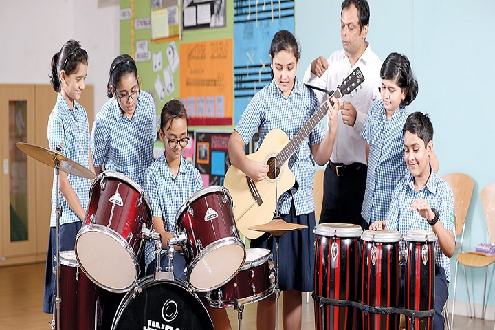 Reliance Foundation School-Music Room