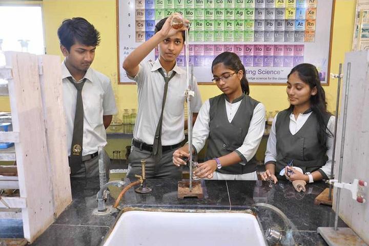 Royary English Medium School-Chemistry Lab