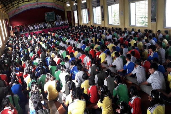 Royary English Medium School-Yoga Day