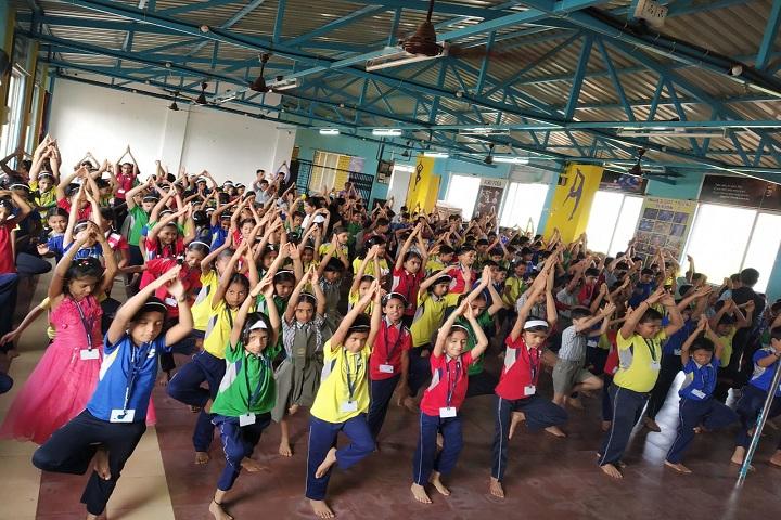 Royary English Medium School-Yoga