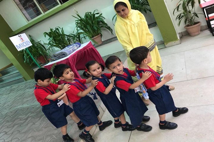 Rustomjie International School-Nursery Students
