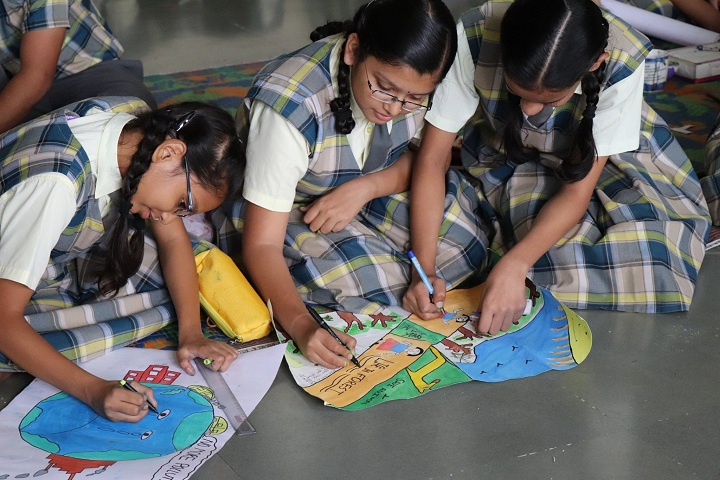Rustomjie International School-Painting Competitions