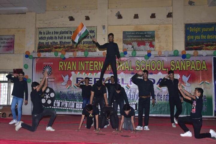 Ryan International School-Human Pyramid