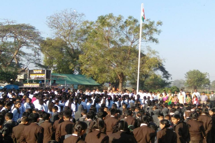 S N D English Medium Public School-Flag Hosting