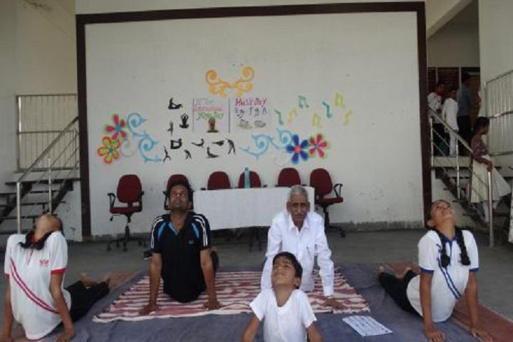 Sai Angels International School-Yoga Class