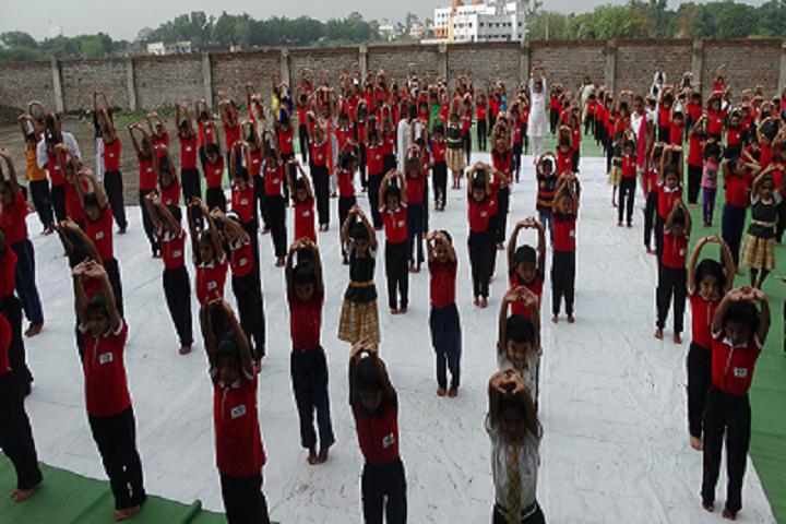 Sai Angels International School-Yoga