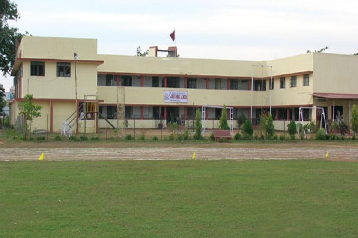 Saket Public School-Campus View