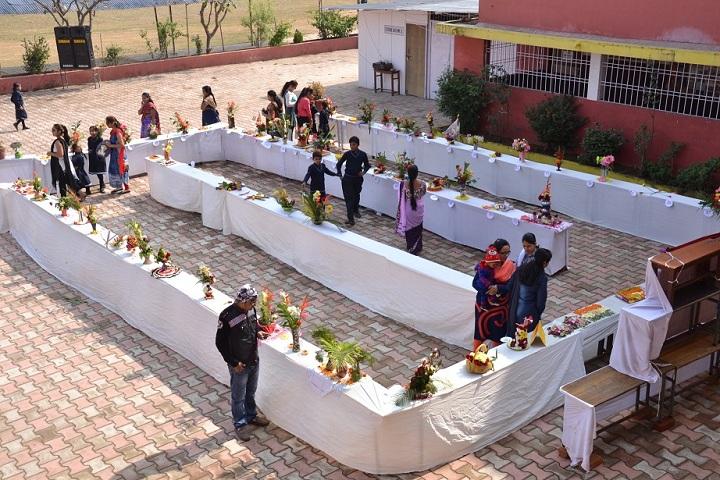 Saket Public School-Flowers Exhibition