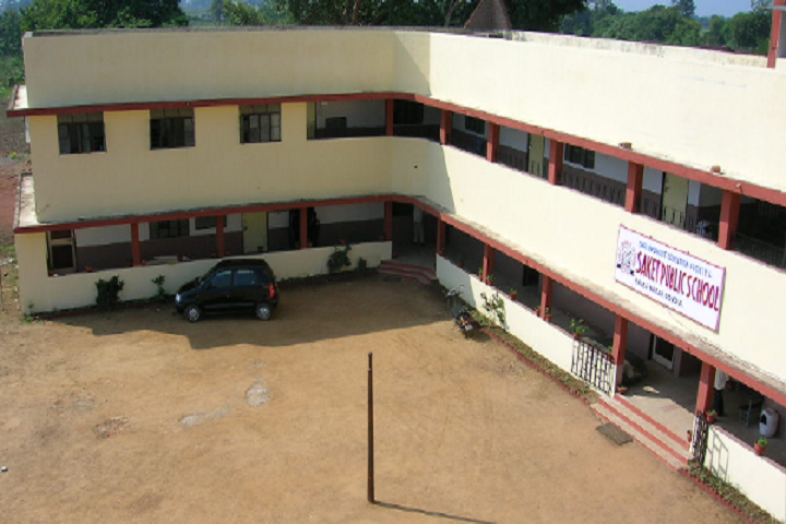 Saket Public School-School Building