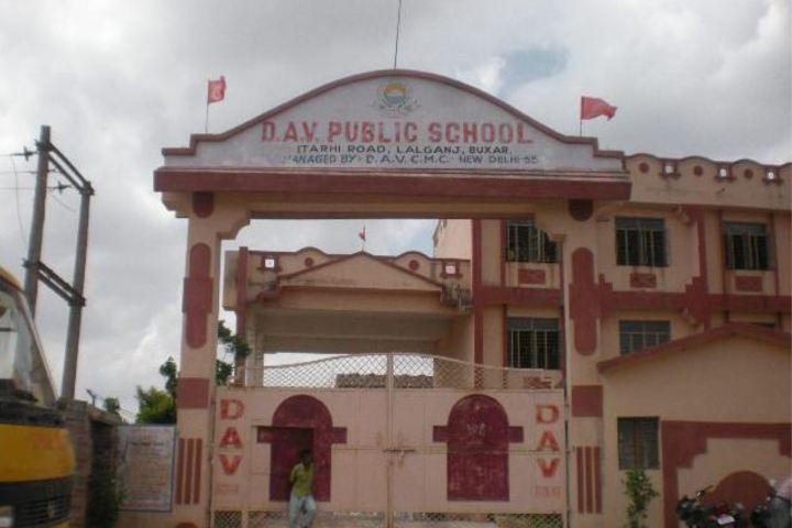 Dav Public School-School Front View
