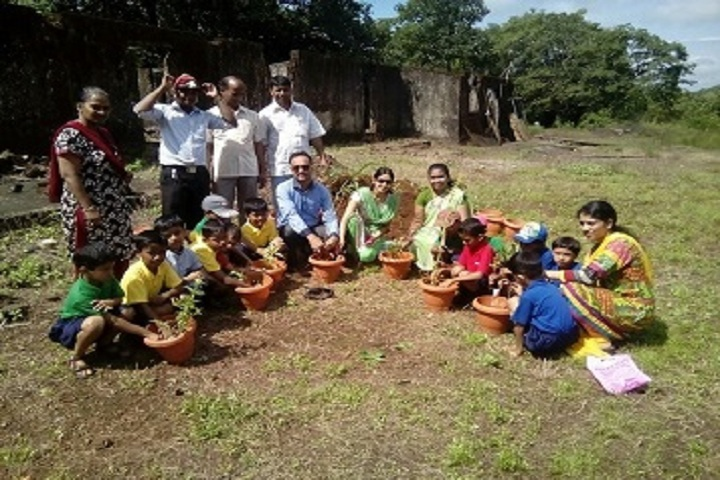 Saroj Mehta Intenational School-Tree plantation