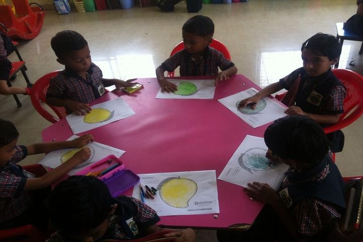 Scholars International School-Class activity