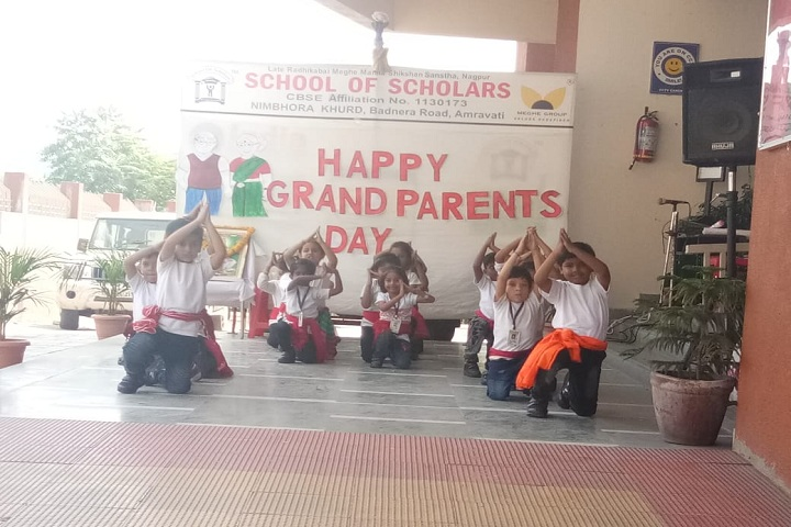 School Of Scholars-Dance performance on grandparents day