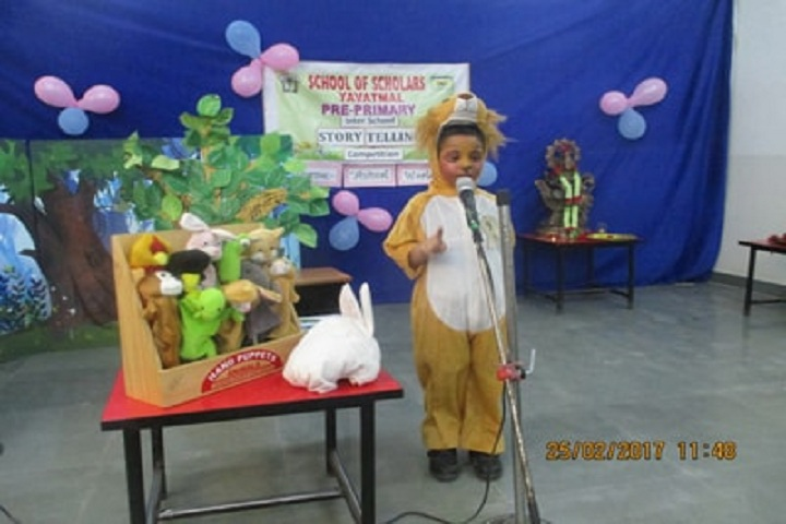 School Of Scholars-story telling competition