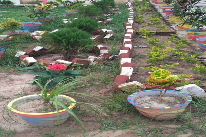 DAV Public School-Garden Area