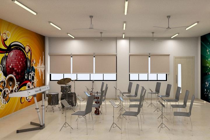 Shamit School-Music Room