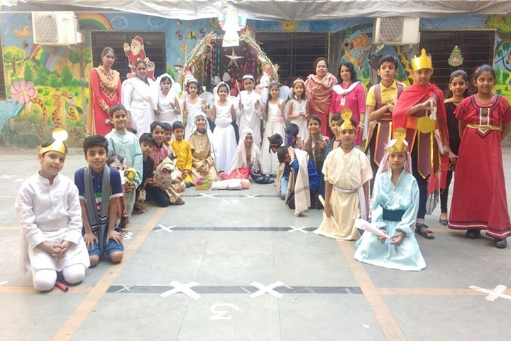 Shantiniketan Public School-Christmas celebrations