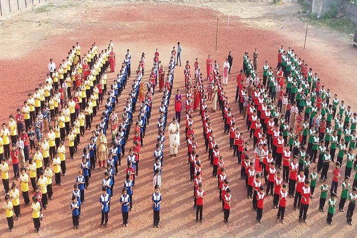 Sharada International School-Assembly