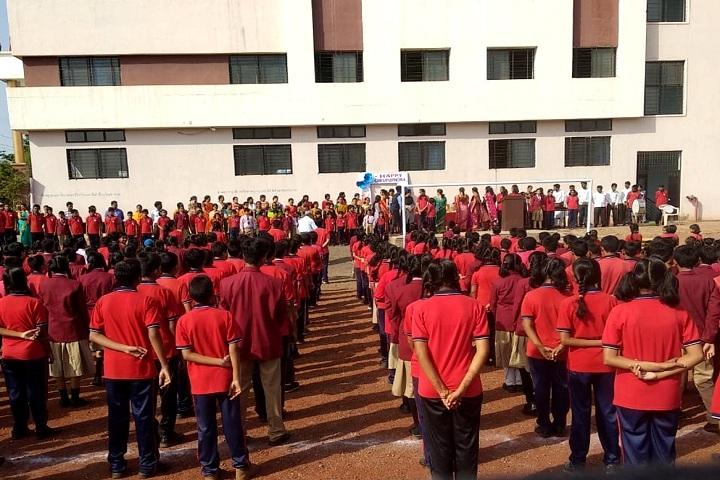 Sharada International School-Celebration of Guru Pawrnami