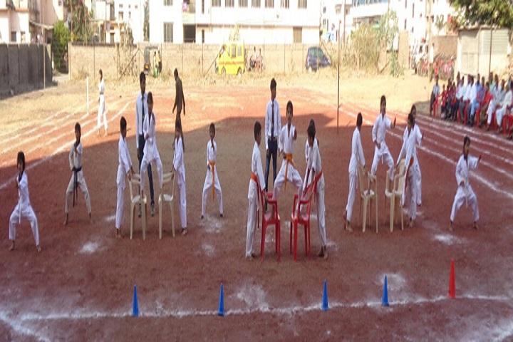 Sharada International School-Karate