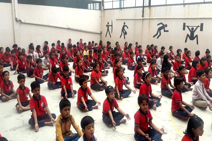 Sharada International School-Yoga Day