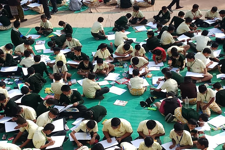 Shinde International School-Drawing Competition