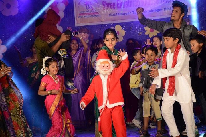 Shree Eknathrao Khadse Talent School-Christmas Celebration