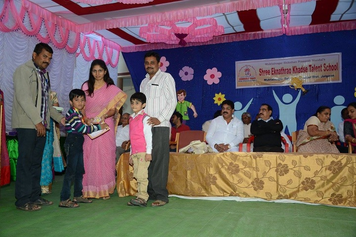 Shree Eknathrao Khadse Talent School-Prize Distribution
