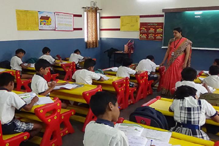 Shree Maharishi Vidya Mandir-Classroom