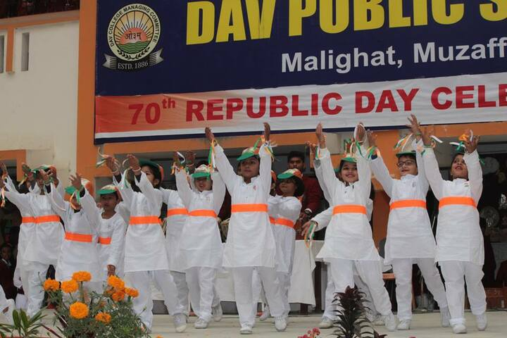Dav Public School-Republic Day