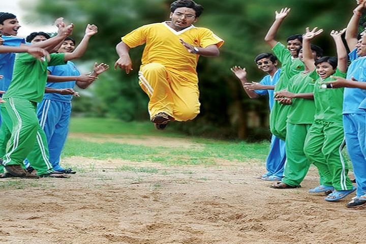 Shree Swaminarayan Gurukul International School-Long Jump
